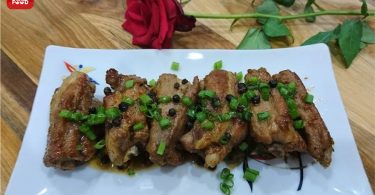 STEWED PORK RIBS WITH PEPPER1