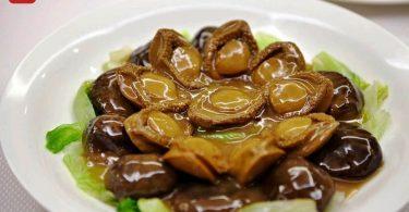 stir-fried abalone with mushroom